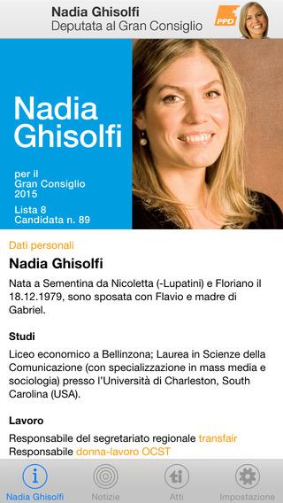 Nadia Ghisolfi