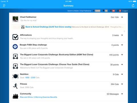 THI Connected iPad Screenshot 3
