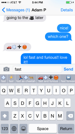Keymoji : Emoji Keyboard Screenshots