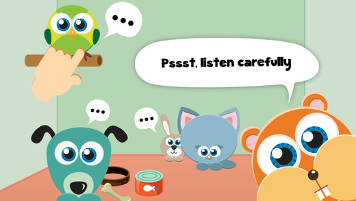 Play with Baby Pets - The 1st Sound Game for a toddler and a whippersnapper free