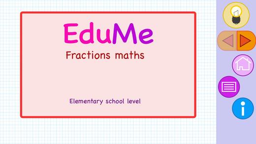 EduMe - Fractions Math