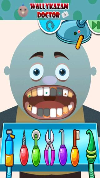 Kids Dentist Doctor Game Wallykazam Version