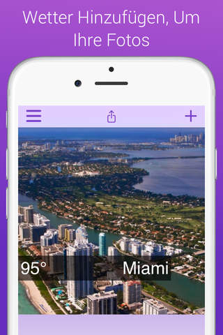 Weathergram - Weather And Temperature For Instagram screenshot 1