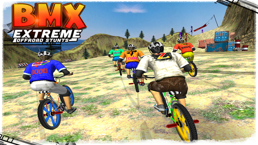 BMX Extreme Offroad Stunts