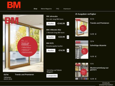 BM Innenausbau Möbel Bauelemente