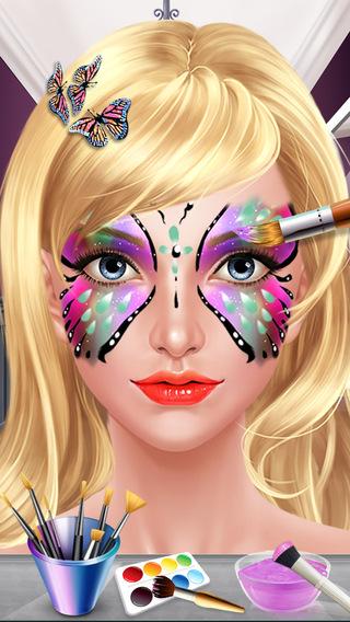 Face Paint Beauty SPA - Dress Up Salon