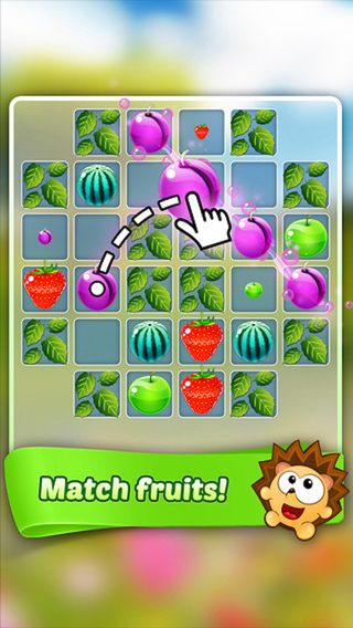 Fruit King - 3 match crush puzzle game