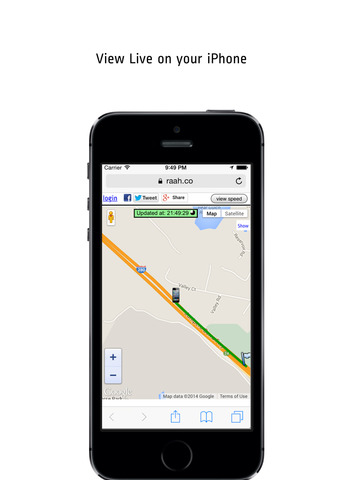 Route Tracker - Realtime GPS location Tracking & Sharing screenshot