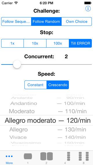 REFLEX BODY & MIND - Reflex and eye-hand coordination trainer iPhone Screenshot 1