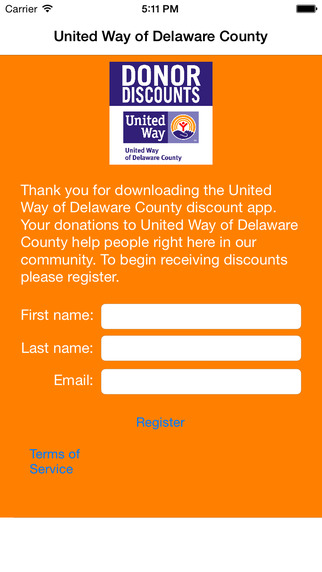 United Way of Delaware County Donor Discounts