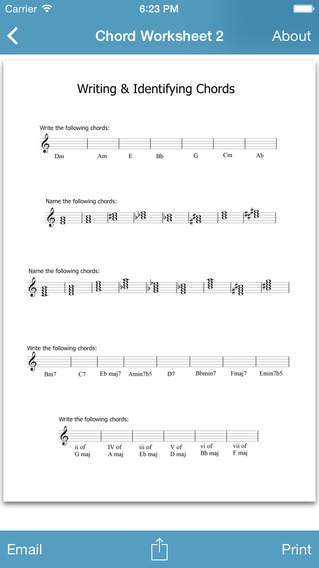 Music Resources - Theory Worksheets Flashcards