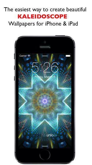 Kaleidoscope Wallpaper Design - Kaleidoscopic Photo FX for iPhone iPad