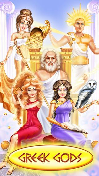 Greek Gods - Kids Game