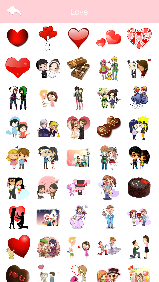 LOVE Stickers & Emoji Art for Valentines Day Messages for WhatsApp, Line &  Viber Pro | FREE iPhone & iPad app market