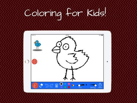 Kids Painting with Birds|玩教育App免費|玩APPs