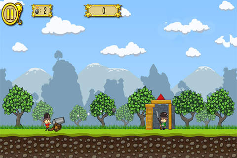 Cannons Soldiers Kids Game screenshot 2