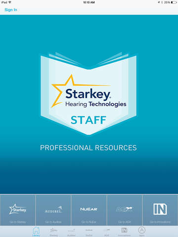 Starkey Hearing Technologies Professional Resources