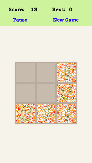 Color Blind 3X3 - Sliding Number Tiles And Playing The Piano