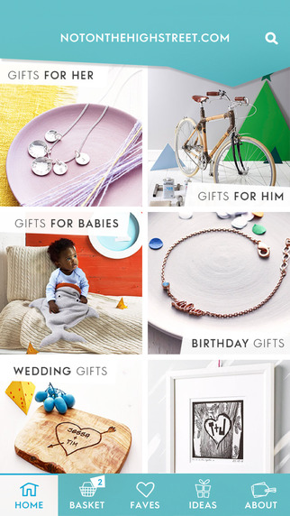 Gift Finder by notonthehighstreet.com