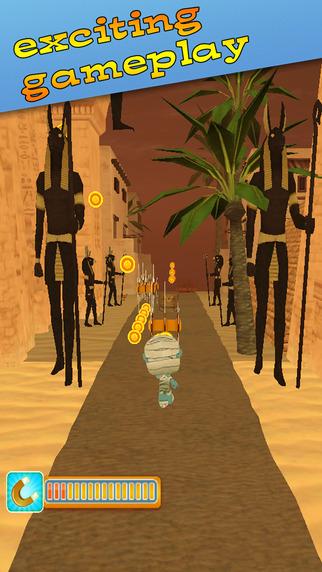 Subway Monsters Rush in Mystery Pharaoh Tomb Mummy - Endless Runner Infinite HD