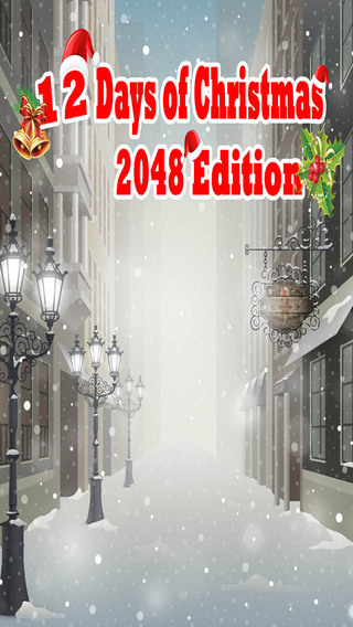 Twelve Days of Christmas - 2048 Holiday Style Puzzle Game Free