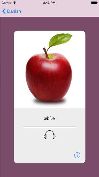 Learning Danish Basic 400 Words