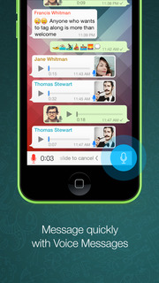 Screenshot #4 for WhatsApp Messenger