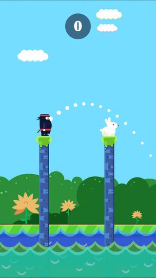 Catch The Ninja -Make Jump Up Bounce Tower Hero