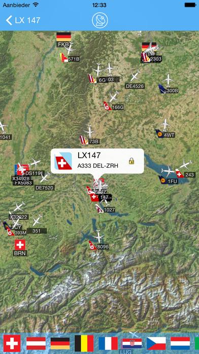 iPlane - Zurich Airport iPhone Screenshot 3