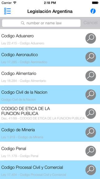 Legislación Argentina Leyes y Códigos