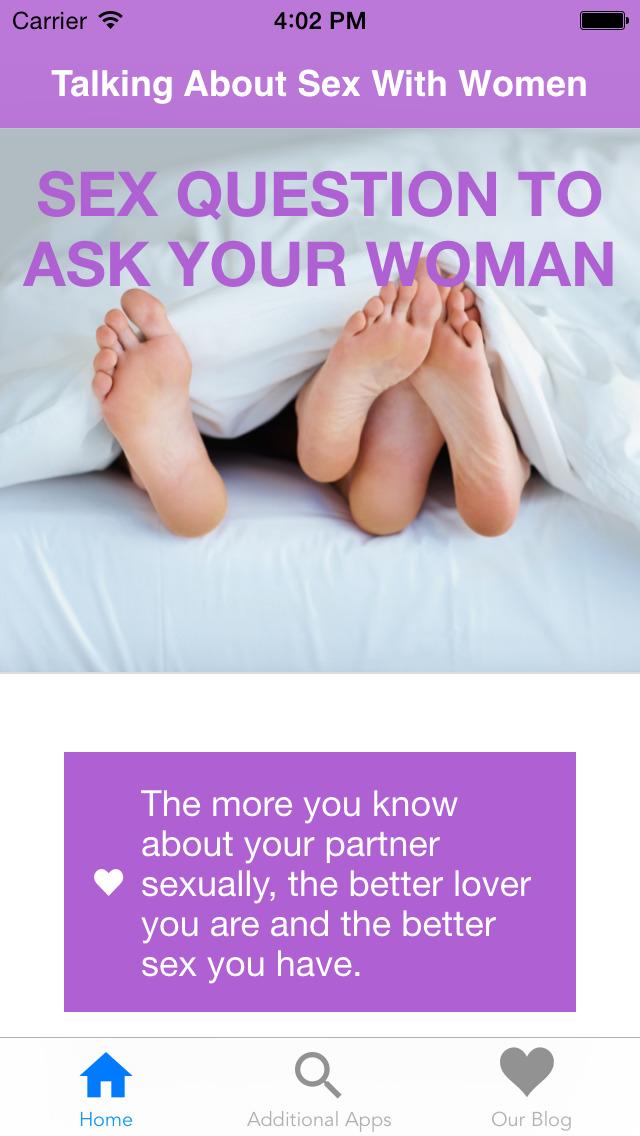 Sex questions websites