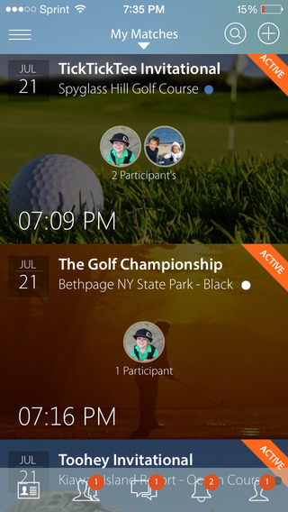 TickTockTee: Golf Social Network