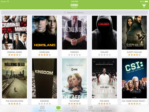 TVSofa 2 - Track your favorite shows and movies Screenshots