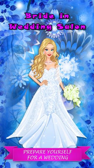 Blonde Bride in Wedding Salon - Dress up game for little princesses