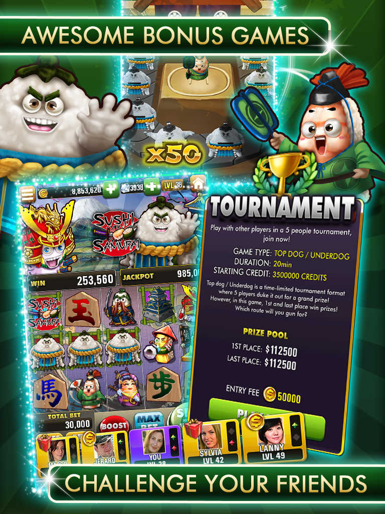 Super slots showdown