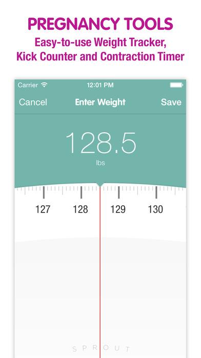 Sprout - Pregnancy Essentials iPhone Screenshot 5