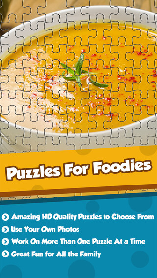 Puzzle For Foodies-Kids Adventure Jigsaw Box