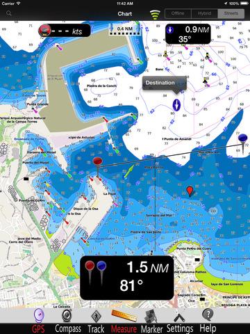 Asturias GPS Nautical charts pro