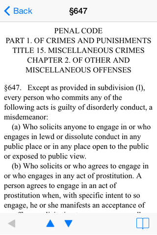 California Law screenshot 3