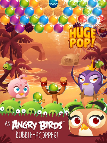 iPad Image of Angry Birds Stella POP!
