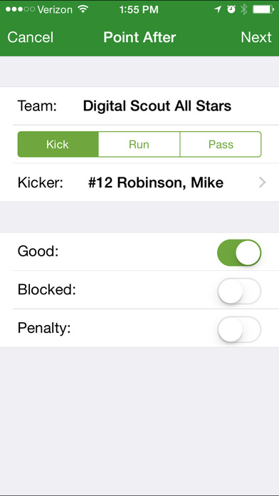 Football Statware iPhone Screenshot 4