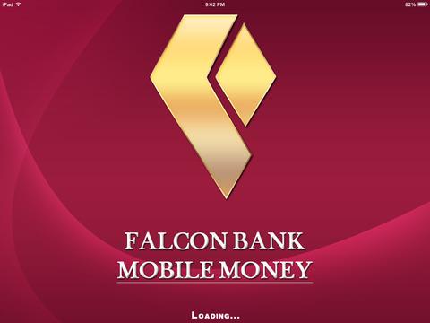 Falcon Bank Mobile Money for iPad