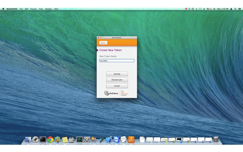 MobilePASS Screenshot - 3