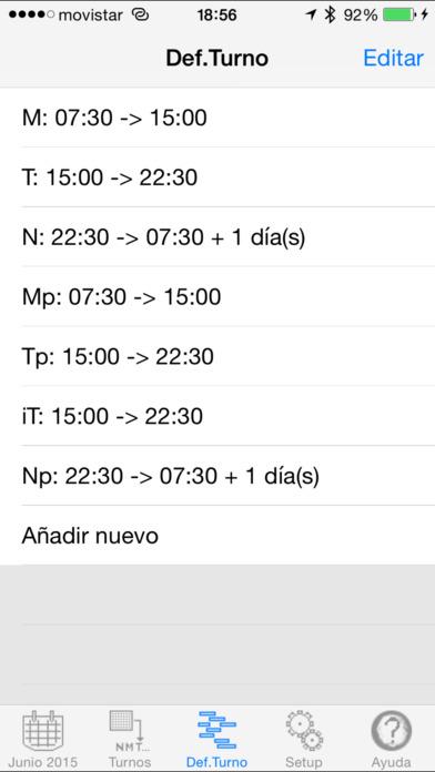 Turnos iPhone Screenshot 3