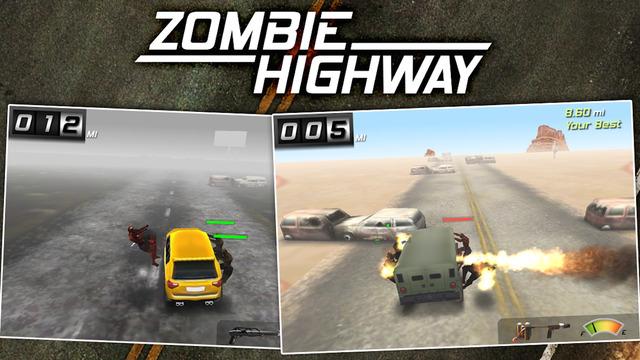 Zombie Highway Screenshot