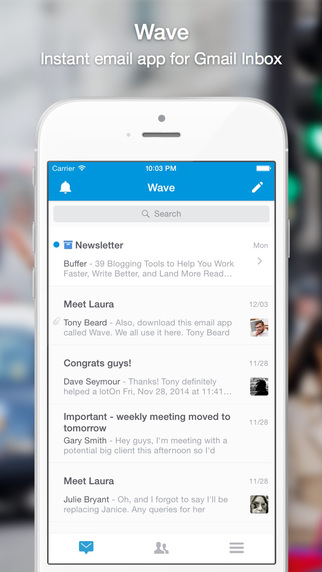 Wave - Instant email app for Gmail Inbox