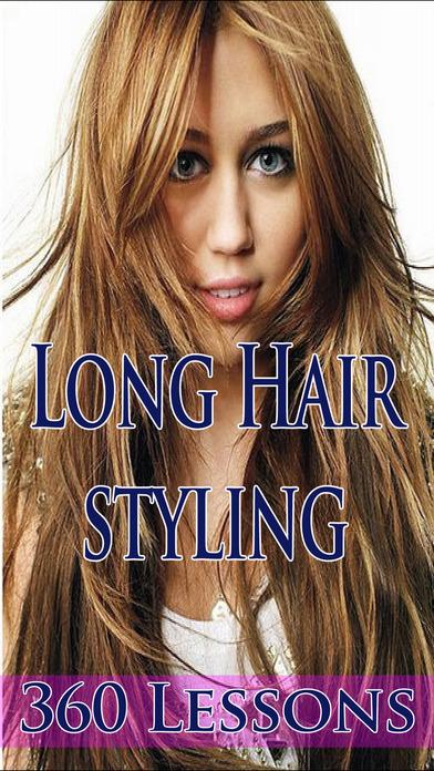 Long Hairstyling iPhone Screenshot 1