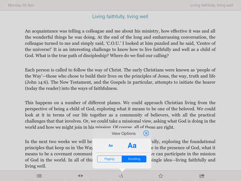 Guidelines: Bible Study for Today's Ministry and Mission iPad Screenshot 3