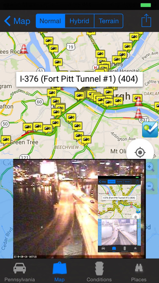 Pennsylvania Philadelphia Pittsburgh Traffic Cameras - Travel Transit NOAA