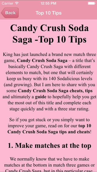 Guide For Candy Crush Soda Saga - All Level Video Walkthrough Guide